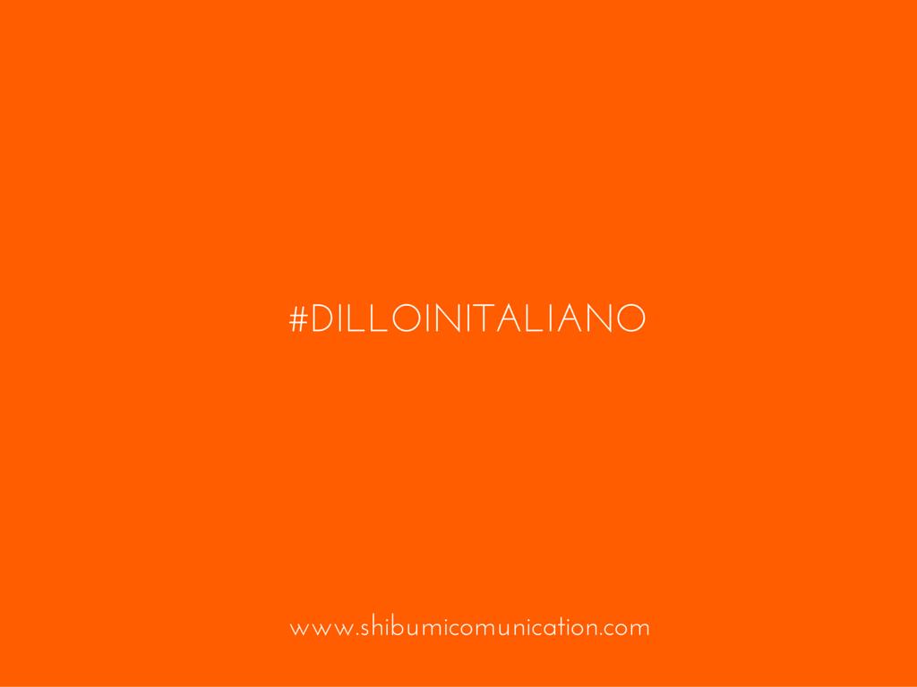Piccolo vocabolario social inglese - italiano. Perché siamo digitali ma siamo sempre le genti del bel paese là dove 'l sì suona.